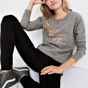 NWT Madewell  Woman of the Hour Sweatshirt